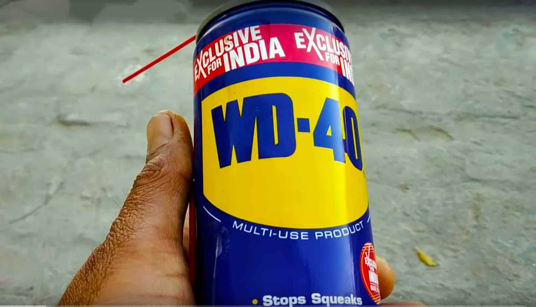 Removing Rust From Tools By Using Wd 40 As A Rust Remover