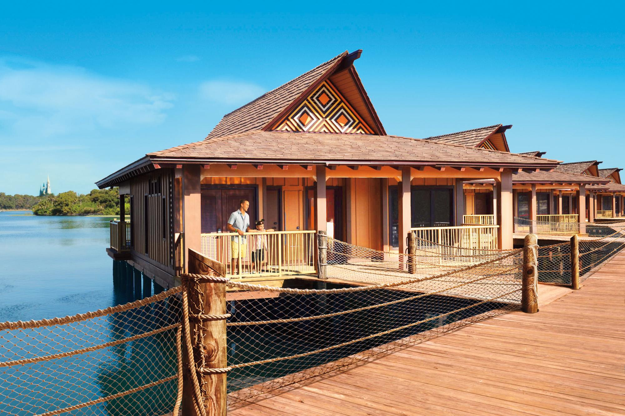 The Bora Bora Bungalows At Disney's Polynesian Village