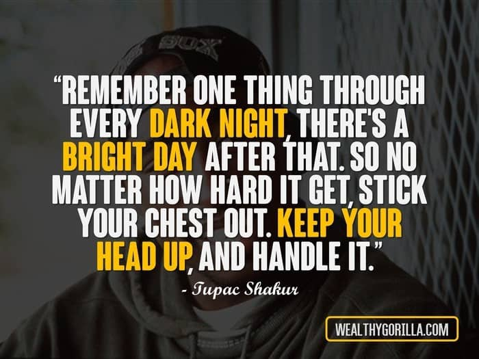 Hip Hop Quotes - 2Pac Quotes
