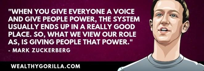 Richest People Quotes - Mark Zuckerberg