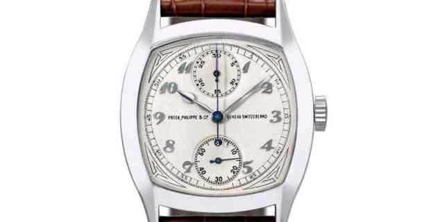Most Expensive Watches - Patek Philippe 1928 Single Button Chronograph