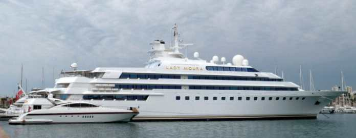 Most Expensive Yachts - Lady Moura