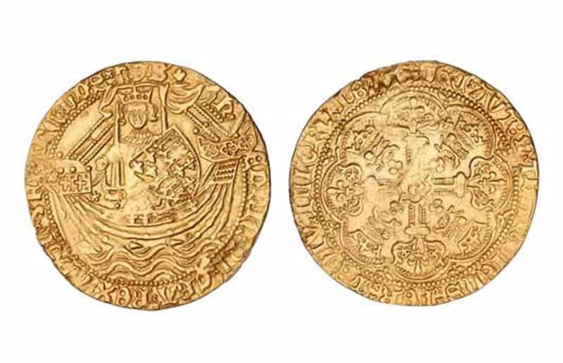 Moedas Mais Caras - Edward III Florin (1343)