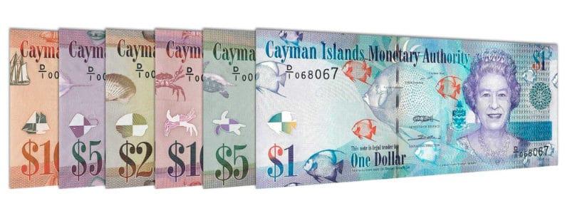 Moedas mais fortes - Dólar das Ilhas Caimão