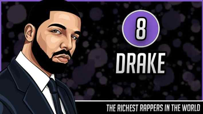 Richest Rappers in the World - Drake