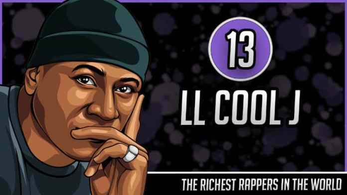 Richest Rappers in the World - LL Cool J