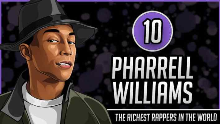 Richest Rappers in the World - Pharrell Williams