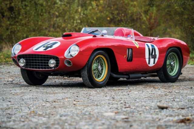 Most Expensive Ferraris - 1956 Ferrari 290 MM Scaglietti Spider
