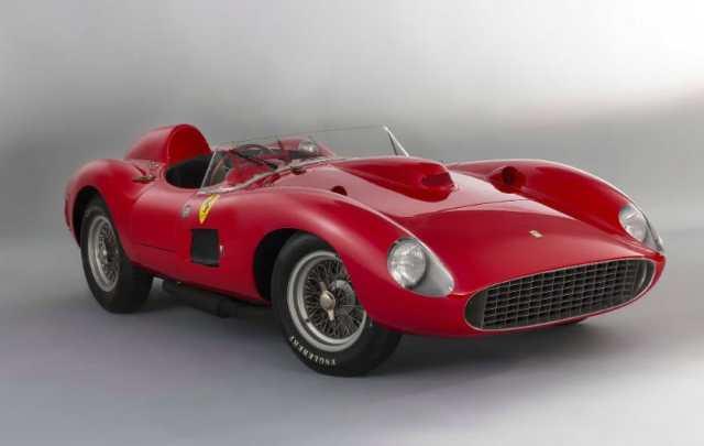 Most Expensive Ferraris - 1957 Ferrari 335 S Scaglietti Spider