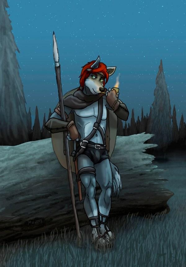Early morning patrol — Weasyl