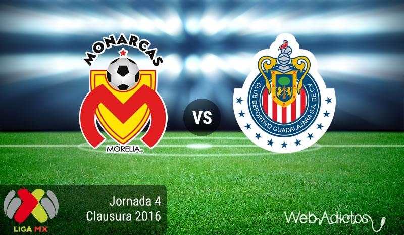 Morelia vs Chivas, Jornada 4 del Clausura 2016 Liga MX - monarcas-morelia-vs-chivas-clausura-2016