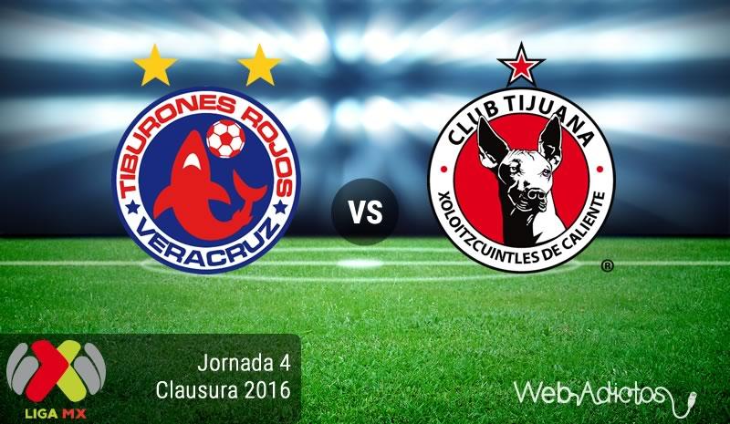 Veracruz vs Tijuana, Fecha 4 del Clausura 2016 - veracruz-vs-tijuana-clausura-2016