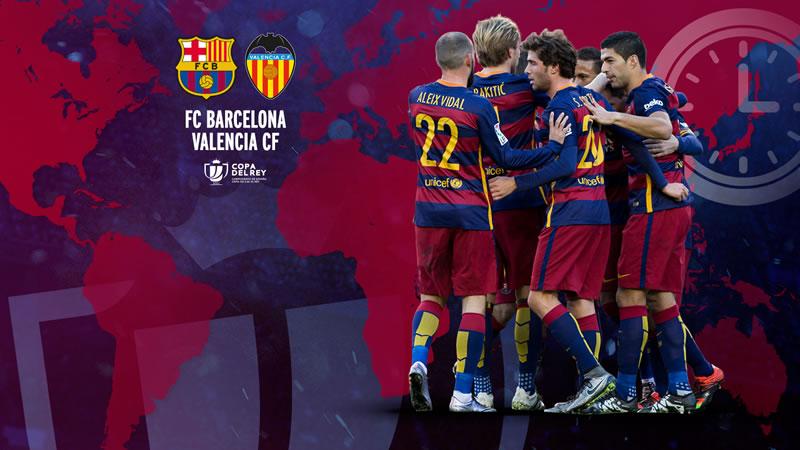 Barcelona vs Valencia, Semifinal de Copa del Rey 2016 | Partido de ida - barcelona-vs-valencia-semifinal-copa-del-rey-2016