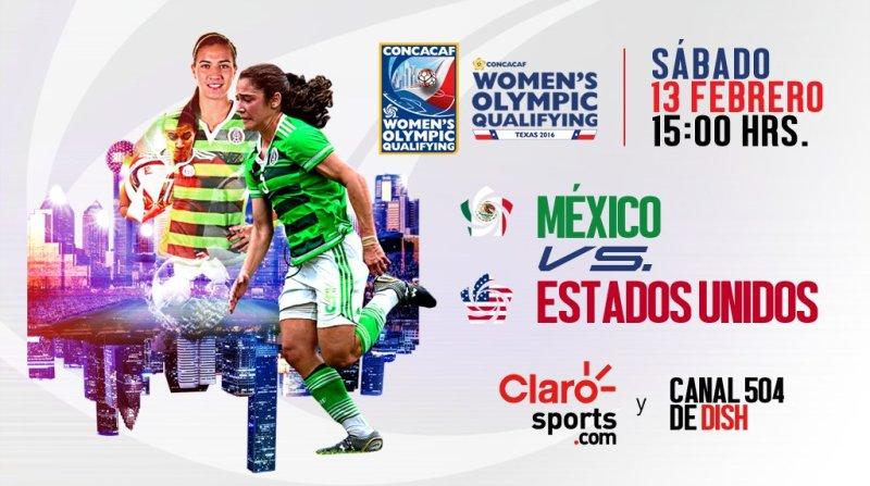 México vs Estados Unidos, Preolímpico Femenil ¡En vivo por internet! - cbc8gltwwaeqa8a