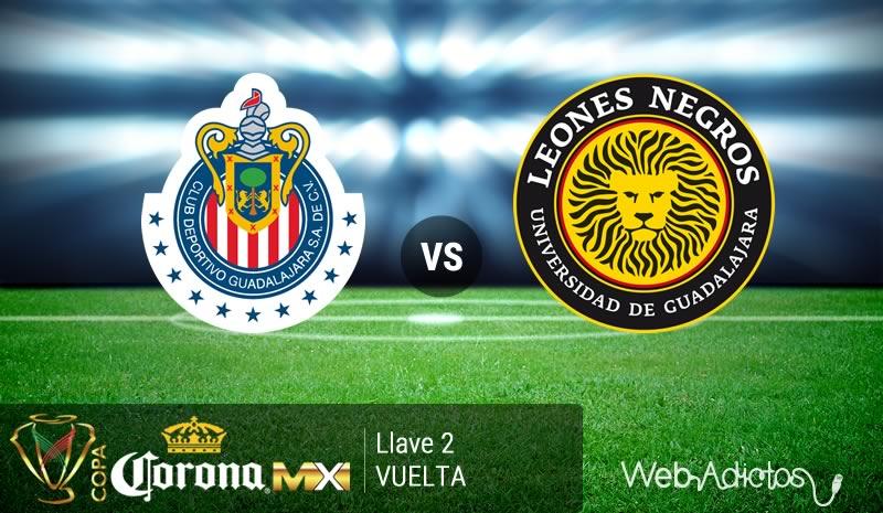 Chivas vs Leones Negros UDG en la Copa MX Clausura 2016   Llave 2 de Vuelta - chivas-vs-leones-negros-udg-copa-mx-clausura-2016