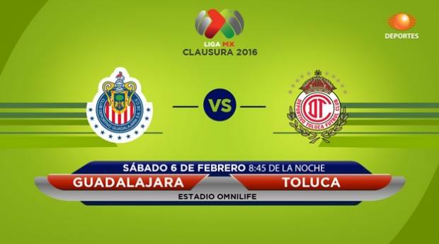 Chivas vs Toluca, Fecha 5 del Clausura 2016 en la Liga MX - chivas-vs-toluca-en-vivo-por-televisa-deportes-clausura-2016