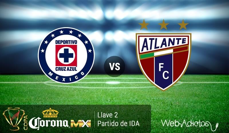 Cruz Azul vs Atlante, en la Copa MX Clausura 2016   IDA Llave 2 - cruz-azul-vs-atlante-copa-mx-clausura-2016