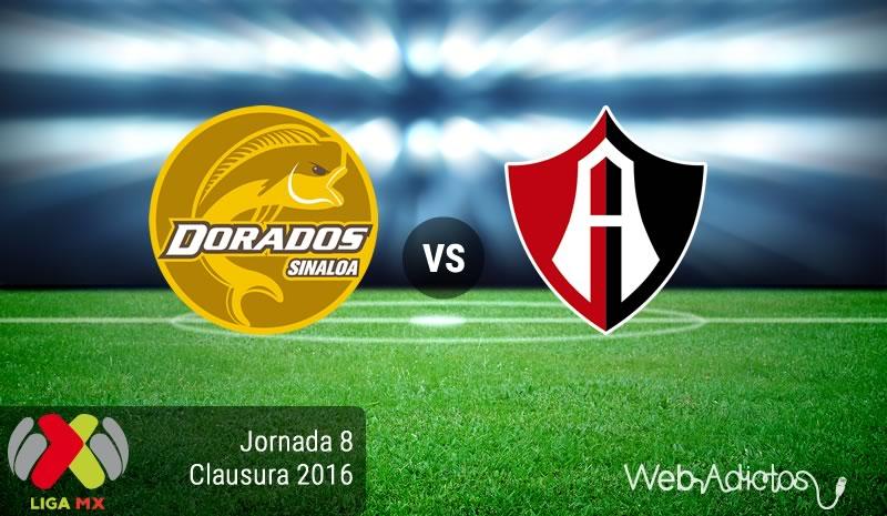 Dorados vs Atlas, Jornada 8 del Clausura 2016   Liga MX - dorados-vs-atlas-jornada-8-del-clausura-2016