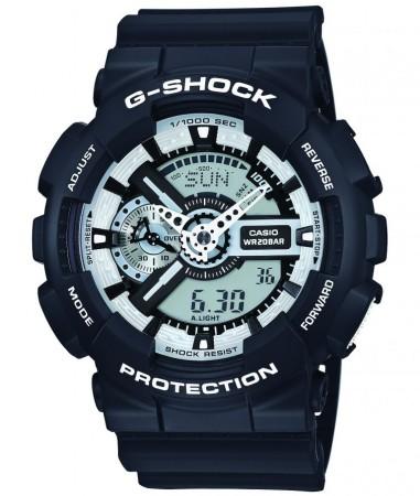 G-SHOCK presenta nuevos modelos en colores monocromáticos - ga-110bw-1a_jf_dr-e1455044831980-381x450