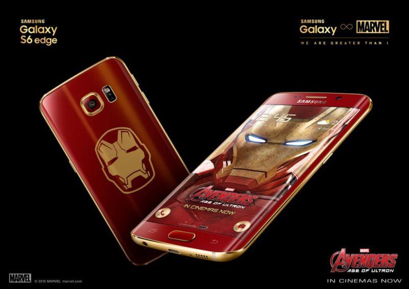 El Galaxy S7 edge tendría edición especial de Batman v Superman - galaxy-s6-edge-iron-man-limited-edition_kv2