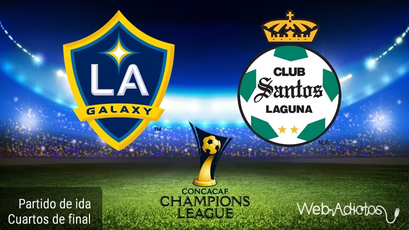 Galaxy vs Santos, Concachampions 2016   Partido de ida - galaxy-vs-santos-en-concachampions-2016