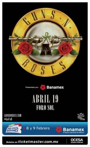 Guns N' Roses llega a México en 2016 - guns-n-roses-en-mexico