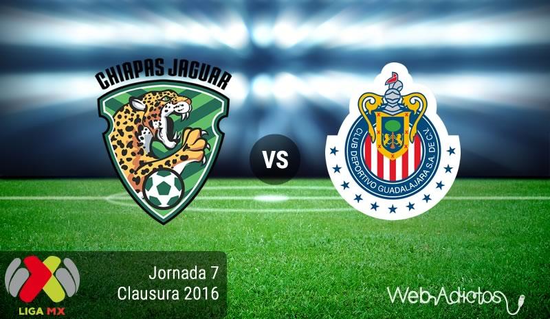 Jaguares vs Chivas, Jornada 7 del Clausura 2016 en la Liga MX - jaguares-vs-chivas-clausura-2016