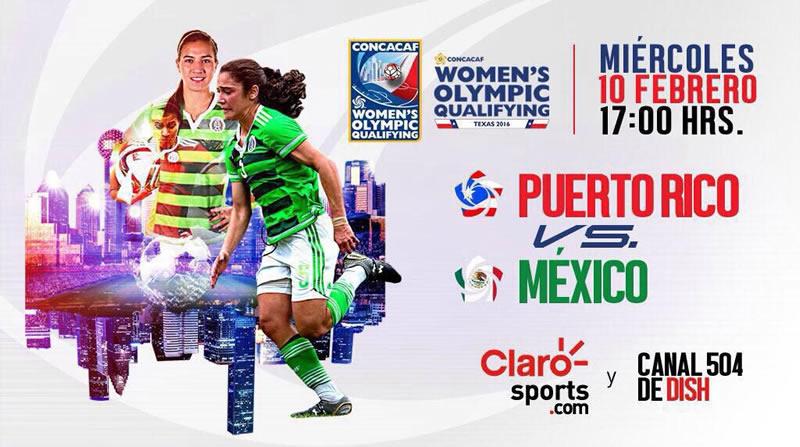 México vs Puerto Rico, Preolímpico femenil de Concacaf 2016 - mexico-vs-puerto-rico-femenil-2016-en-vivo
