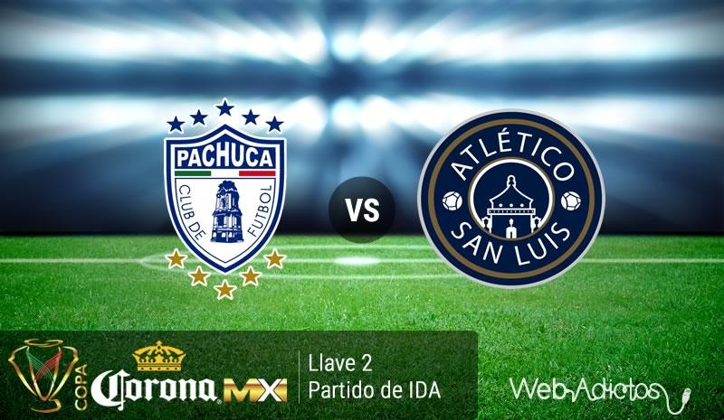 Pachuca vs San Luis, Llave 2 de Copa MX C2016 | partido de ida - pachuca-vs-san-luis-copa-mx-clausura-2016