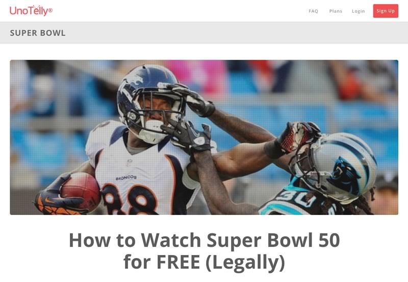 ¿Quieres ver el Super Bowl 2016 en vivo por internet? UnoTelly te permitirá hacerlo ¡gratis! - super-bowl-2016-en-vivo-unotelly-vpn