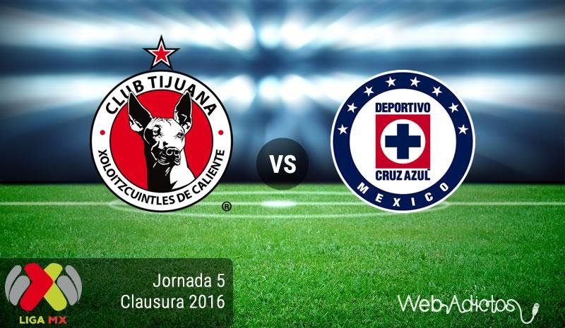 Tijuana vs Cruz Azul, Jornada 5 del Clausura 2016 | Liga MX - xolos-de-tijuana-vs-cruz-azul-clausura-2016