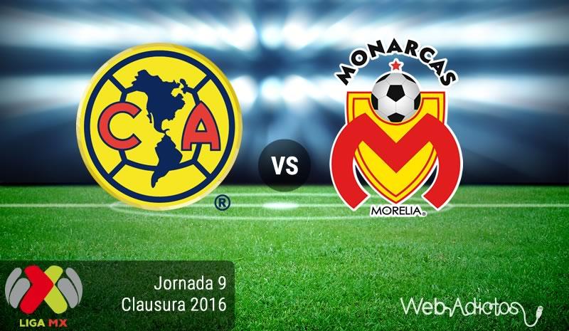 América vs Morelia, Homenaje a Cuauhtémoc  Blanco en el Clausura 2016 - america-vs-morelia-en-la-jornada-9-del-clausura-2016