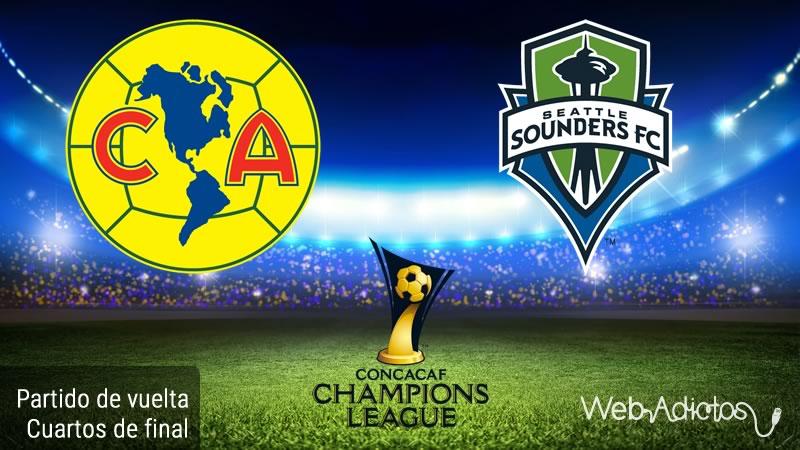 América vs Seattle Sounders en la Concachampions 2016 | Partido de vuelta - america-vs-seattle-sounders-en-concachampions-2016