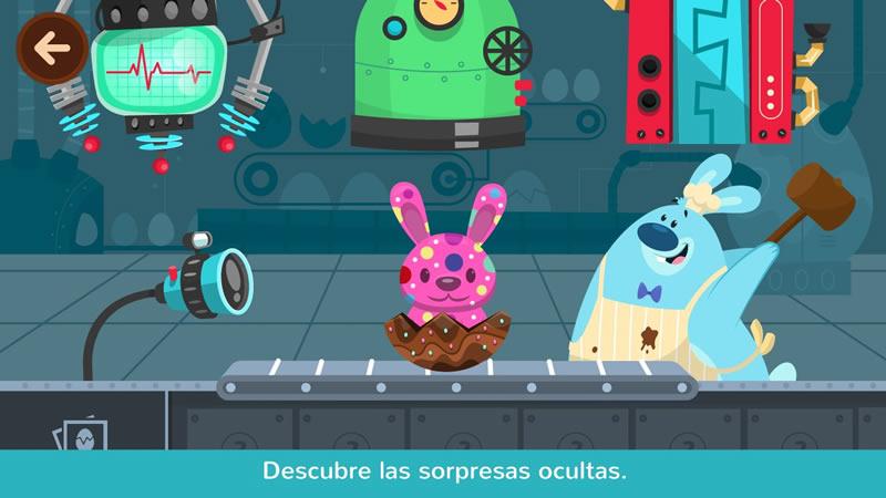 Chocolab, la app infantil para aprender jugando en Pascuas - chocolab-juego