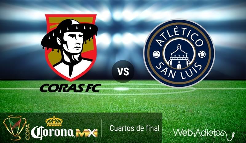 Coras vs San Luis, Cuartos de final Copa MX C2016   Resultado: (3) 2 - 2 (4) - coras-vs-san-luis-en-la-copa-mx-clausura-2016