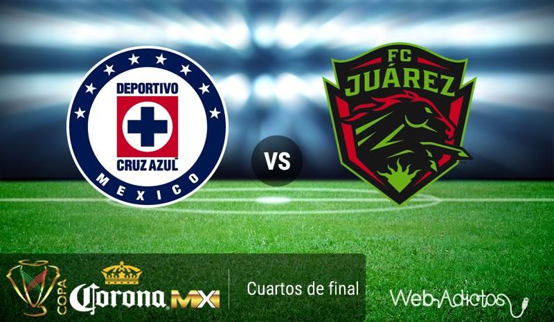 Cruz Azul vs Juárez, Copa MX Clausura 2016 | Resultado: 3 - 0 - cruz-azul-vs-juarez-en-la-copa-mx-clausura-2016