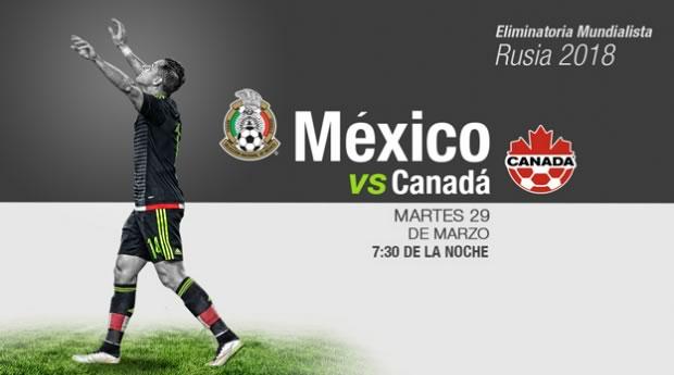 México vs Canadá, Eliminatorias CONCACAF 2018 | Resultado: 2-0 - mexico-vs-canada-por-televisa-deportes