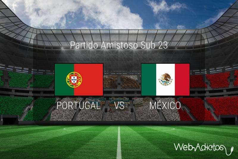 México vs Portugal Sub 23, partido amistoso 2016 | Resultado: 0-4 - mexico-vs-portugal-sub-23-partido-amistoso-para-rio-2016
