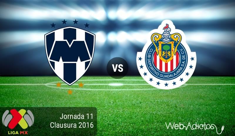 Monterrey vs Chivas, Jornada 11 del Clausura 2016   Resultado: 1-3 - monterrey-vs-chivas-en-la-jornada-11-del-clausura-2016