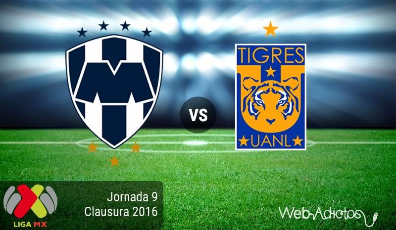 Monterrey vs Tigres, Clásico Regio en el Clausura 2016 - monterrey-vs-tigres-en-la-jornada-9-del-clausura-2016