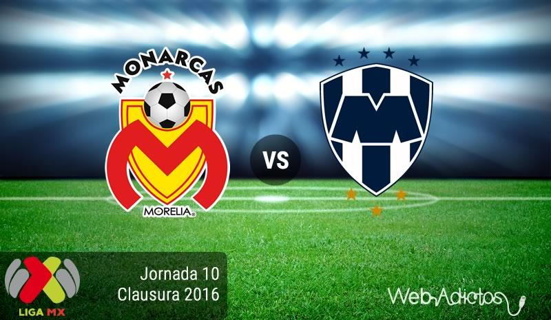 Morelia vs Monterrey en el torneo Clausura 2016 | Jornada 10 Liga MX - morelia-vs-monterrey-en-la-jornada-10-del-clausura-2016