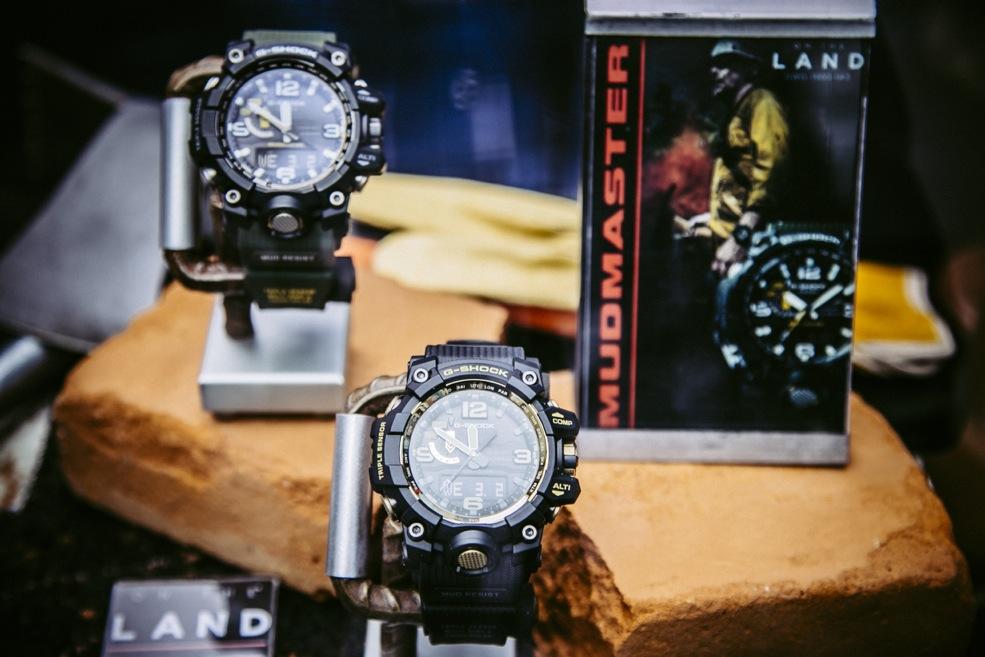 Nueva colección de relojes G-SHOCK que eleva los estándares de resistencia - mudmaster-gwg-1000