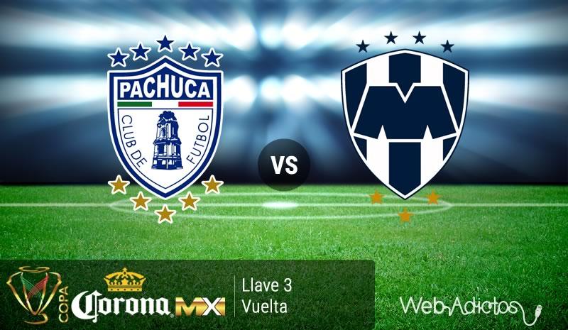 Pachuca vs Monterrey en Copa MX Clausura 2016   Llave 3 de Vuelta - pachuca-vs-monterrey-en-la-copa-mx-clausura-2016