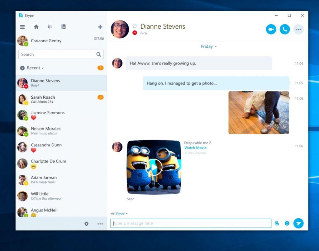 Microsoft trabaja en una aplicación universal de Skype para Windows 10 - skype-uwp