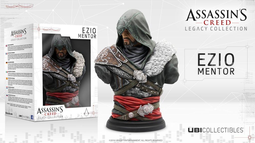 Ubisoft revela las nuevas figuras de Assassin's Creed - ac_ezio-revelations_bust_figurine_mockup_hd_1459987611