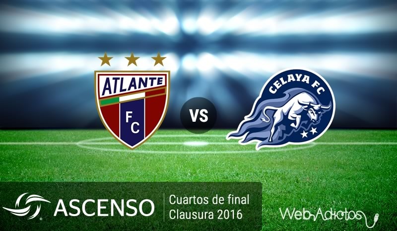 Atlante vs Celaya, Cuartos de final del Ascenso MX C2016 | Resultado: 0-1 - atlante-vs-celaya-cuartos-de-final-ascenso-mx-clausura-2016