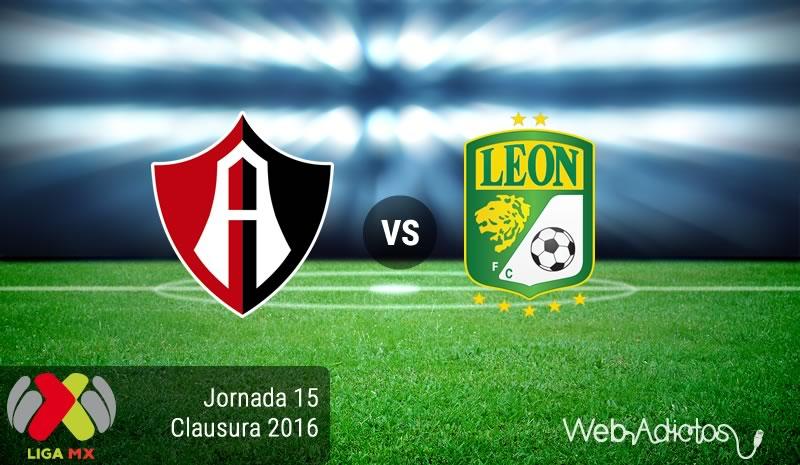 Atlas vs León, Jornada 15 del Clausura 2016 | Resultado: 1-1 - atlas-vs-leon-jornada-15-del-clausura-2016