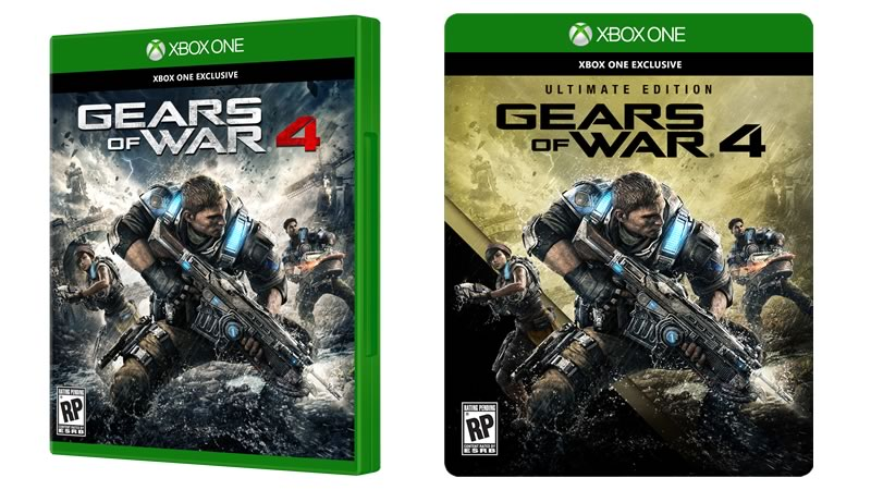 Gears of War 4: Ultimate Edition ya disponible para Pre-ordenar - gears-of-wars-4-ultimate-edition-preventa