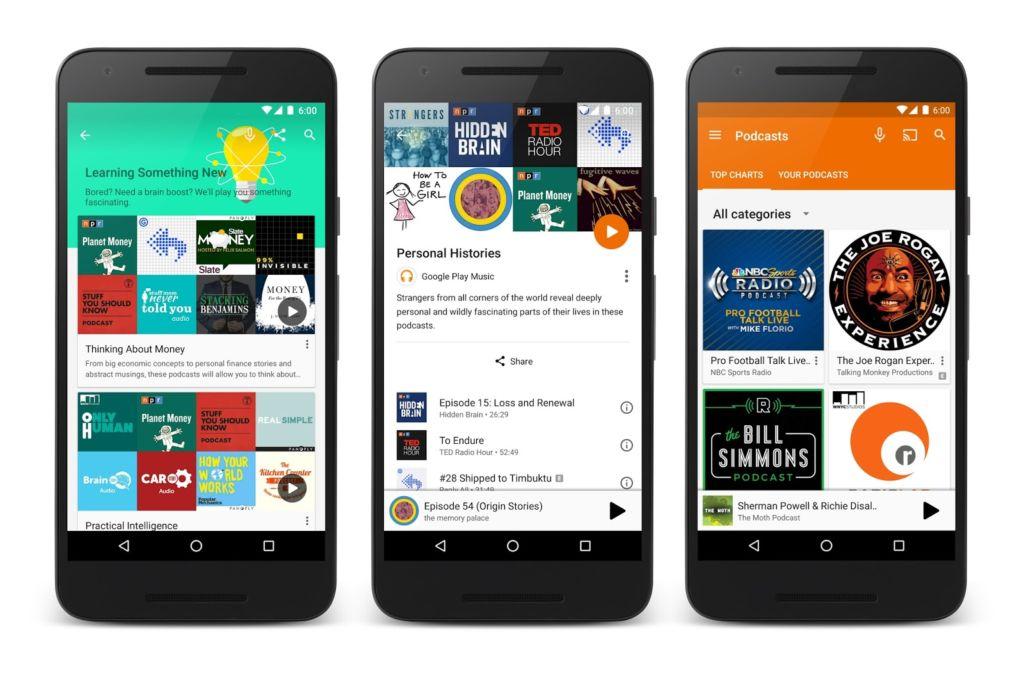 Google Play Music oficializa su función de podcasts - google-play-music-podcast