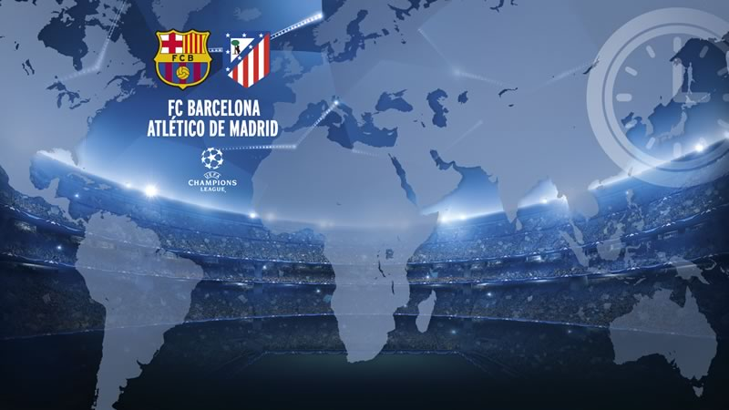 A qué hora juega Barcelona vs Atlético de Madrid y qué canal lo pasa. Cuartos de final de Champions 2016 - horario-barcelona-vs-atletico-de-madrid-cuartos-de-champions-2016